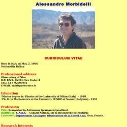 Index.htmlAlessandro MorbidelliAlessandro MorbidelliAlessandro Morbidelli