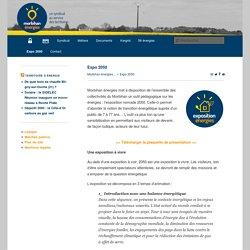 Expo 2050 - Morbihan énergies - SDEMMorbihan énergies – SDEM
