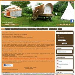 Camping Morbihan - CAMPING LE VILLAGE INSOLITE - Bretagne Sud