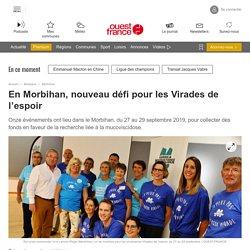 En Morbihan, nouveau défi pour les Virades de l'espoir