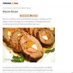 Morcon Recipe - Panlasang Pinoy