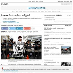 La mordaza en la era digital