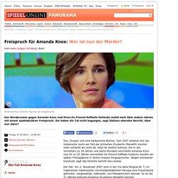 Mordprozess: Italiens oberstes Gericht spricht Amanda Knoxfrei