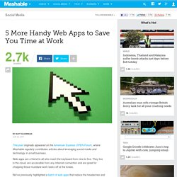 5 More Handy Web Apps to Save You Time at Work