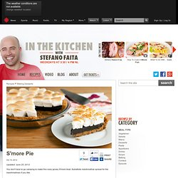 S'more Pie - In the Kitchen with Stefano Faita