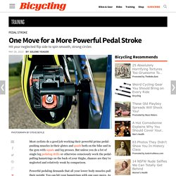 More Powerful Pedal Stroke