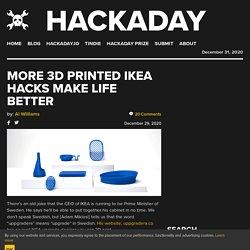 More 3D Printed IKEA Hacks Make Life Better