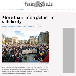 More than 1,000 gather in solidarity