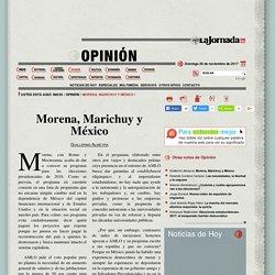 Morena, Marichuy y México