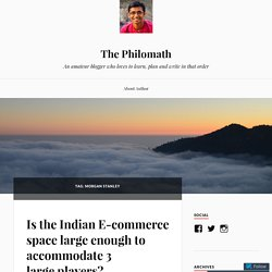 Morgan Stanley – The Philomath