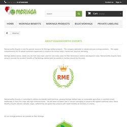 About us - Buy Moringa Oleifera Products online