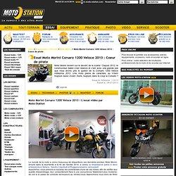 Moto Morini Corsaro 1200 Veloce 2013 : Coeur de pirate