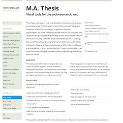 M.A. Thesis