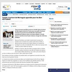 Tunisie: la prison de Mornaguia agrandie pour les Ben Ali/Trabelsi