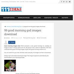 99 good morning god images download