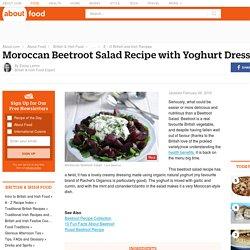 Moroccan Beetroot Salad With Yoghurt Dressing Recipe