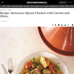 Recipe: Moroccan-Spiced Chicken with Carrots and Olives