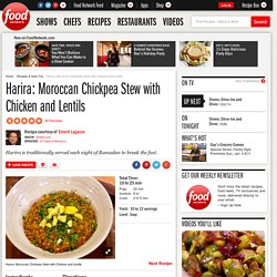 Harira: Moroccan Chickpea Stew with Chicken and Lentils Recipe : Emeril Lagasse