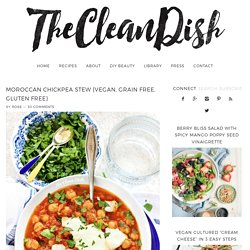Moroccan Chickpea Stew {vegan, grain free, gluten free}