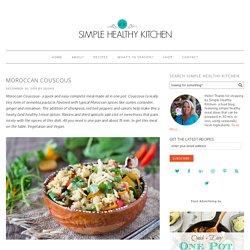 Moroccan Couscous - Simple Healthy Kitchen