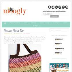 Moroccan Market Tote: Free Crochet Pattern