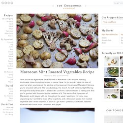 Moroccan Mint Roasted Vegetables Recipe