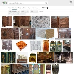moroccan Wooden Screen