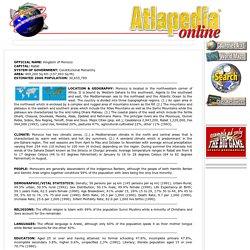 Morocco - Atlapedia® Online