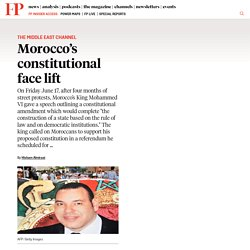 Morocco's Constitutional Face Lift
