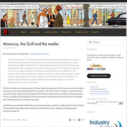 Morocco, the Gulf and the media