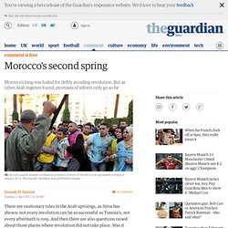 Morocco's second spring | Issandr El Amrani | Comment is free