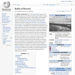 Battle of Morotai