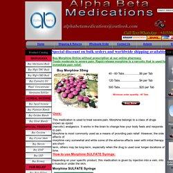Buy morphine pills, Order for morphine online, buy morphine sulphate