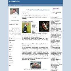 Le colibri, le 100ème singe, les mésanges bleues et les champs morphiques: des histoires de masse critique ... : Connecteur