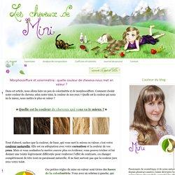 Morphocoiffure et colorimétrie : quelle couleur de cheveux nous met en valeur ?