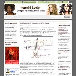» Morphologie, cycle de vie et propriétés du cheveu Beautiful Boucles: Soin, beauté et coiffure des cheveux secs, bouclés et frisés
