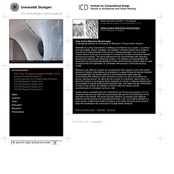 Deep Surface Membrane Morphologies « Institute for Computational Design (ICD)