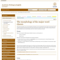 Academic Writing in English, Lund University
