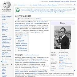 Morris (auteur)