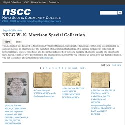 NSCC W. K. Morrison Special Collection