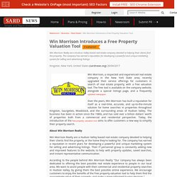 Win Morrison Introduces a Free Property Valuation Tool