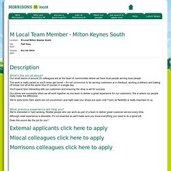 Latest morrisons Graduate Scheme
