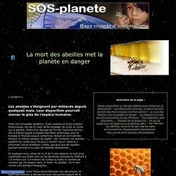 La mort des abeilles met la planète en danger