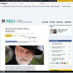 Mort de l'écrivain Terry Pratchett