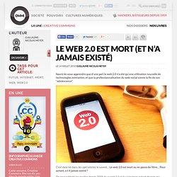 Le Web 2.0 est mort (et n'a jamais existé) » Article » OWNI, Digital Journalism