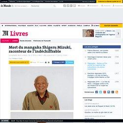 Mort du mangaka Shigeru Mizuki