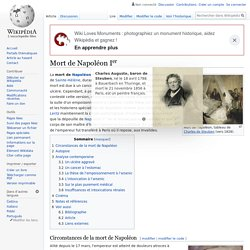 Mort de Napoléon Ier