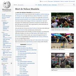 Mort de Nelson Mandela