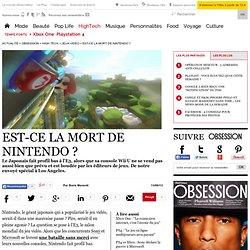 Est-ce la mort de Nintendo ?
