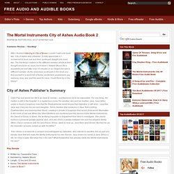 The Mortal Instruments City of Ashes Audio Book